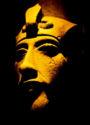 Photograph of statue of Akhenaten