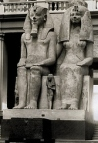 Photograph of Amenhotep III and Queen Tiye (SCA)