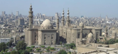 Photograph of Cairo skyline