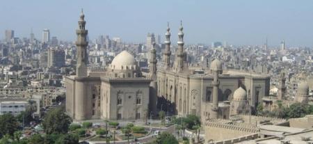 Photograph of Cairo skyline