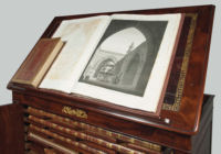 Photograph of the 23 Volumes of The Description de l'Egypte