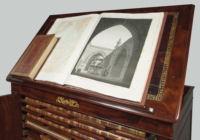 Photograph of the 23 Volumes of The Description de l'Egypte