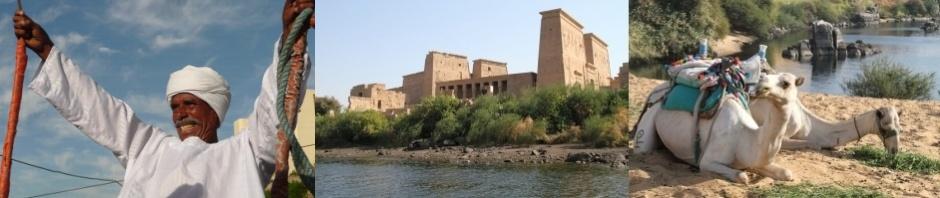 Photographic montage of Egypt