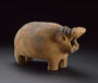 PreDynastic hippo from the Ashmolean Museum collection