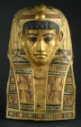 Mummy mask of a man