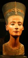 Photograph of Nefertiti's Bust in the Berlin Museum