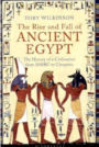 Image of sleeve of the book cover for the Rise and Fall of Ancient Egypt