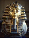 Photograph of Tutankhamuns' burial mask