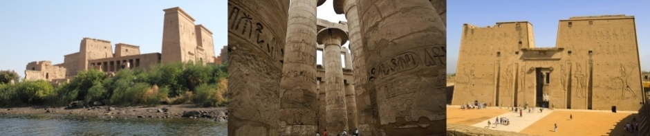 Photographic montage of Egypt Sights