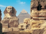 Photograph of the Giza Plateau courtesy of The Independent