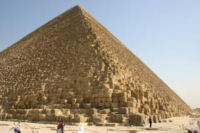 Photograph of the Great Pyramid at Giza