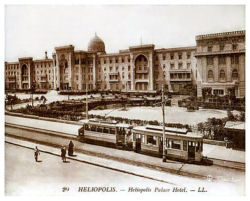 Photograph of Heliopolis Palace as a hotel in the 1930's