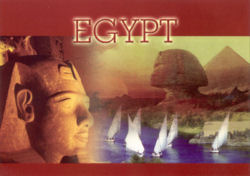 A postcard from Egypt
