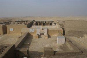 View from Saqqara