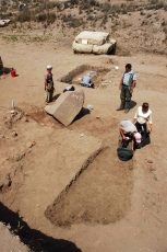 Photograph of Tell Basta Project excavations courtesy of the EES website