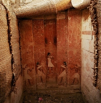 Photograph of the False Door of Nobleman Hetep-Ka